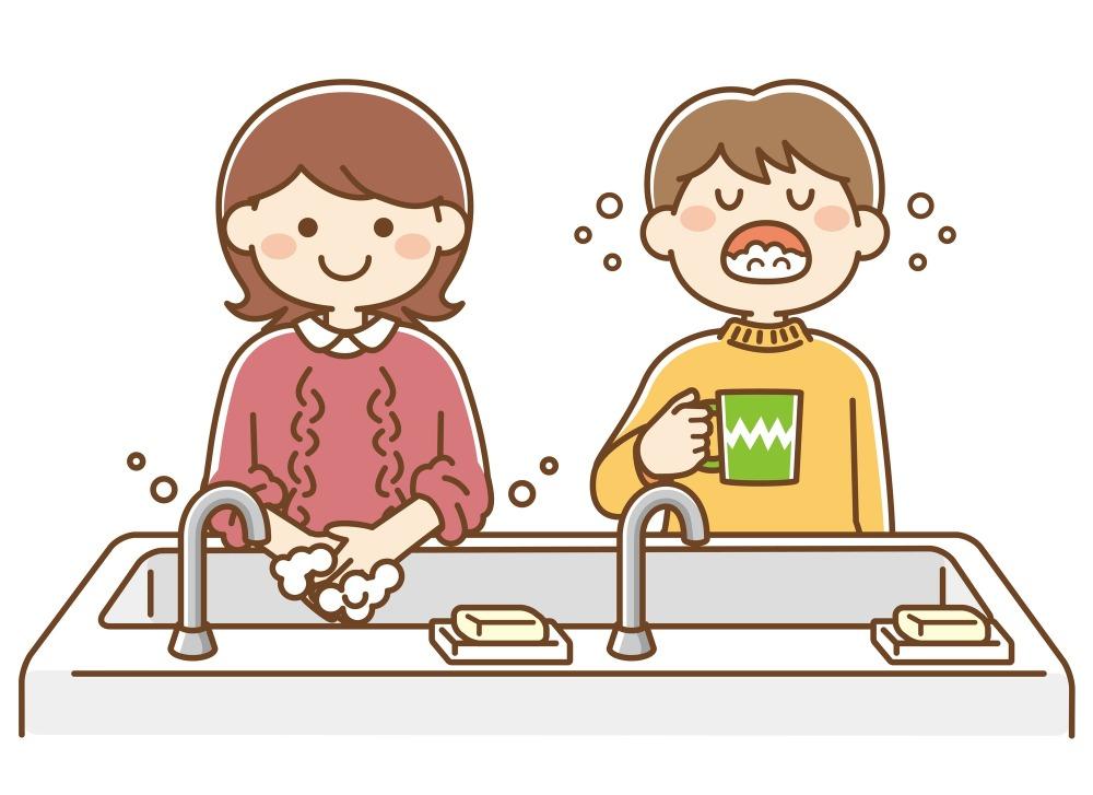 口腔ケア以外のインフルエンザ予防も大切